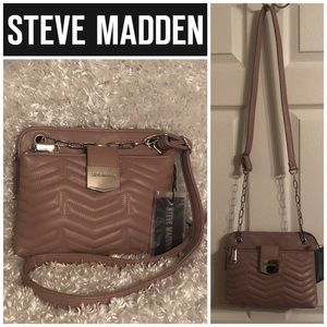 Steve Madden BJAZZ Mauve Crossbody